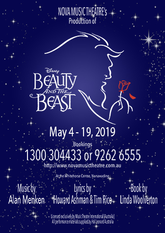 Beauty and The Beast May 4 to 19, 2019